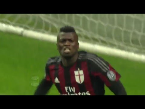 Il gol di Niang - Milan - Udinese - 1-1 - Giornata 24 - Serie A TIM 2015/16