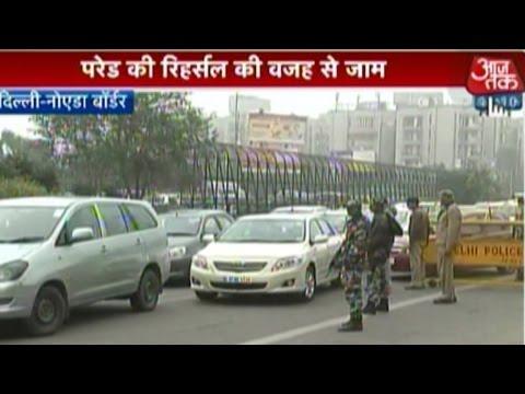 R-Day rehearsal hits traffic flow in Delhi