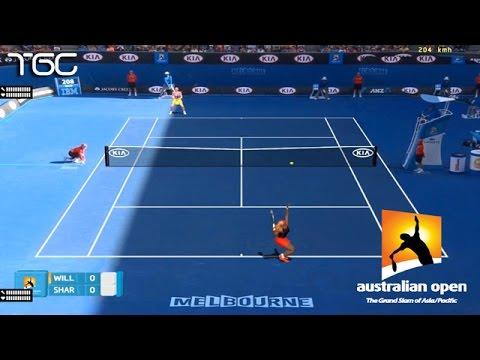 Tennis Elbow 2014 - Australian open 2015 - Serena Williams vs Maria Sharapova GAMEPLAY