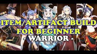 Epic Seven - Item/Artifact Guide for Beginner - WARRIOR -