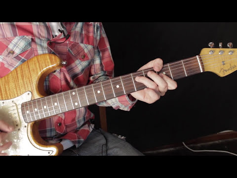 Como Tocar Little Wing - Jimi Hendrix - Tutorial de Guitarra Electrica - Fender Stratocaster