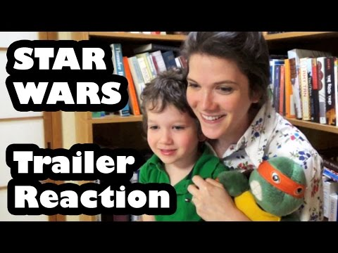Star Wars: The Force Awakens Teaser Trailer #2 Reaction | Mom And Son! video