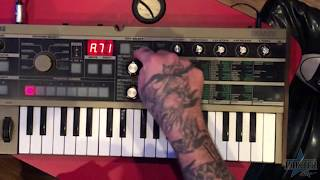 Making a MicroKorg patch for talkbox