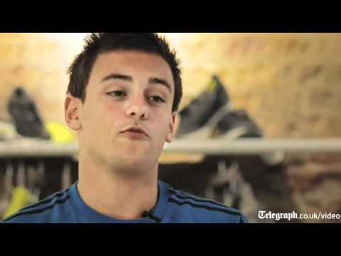 London Olympics 2012; Tom Daley talks about a life in diving
