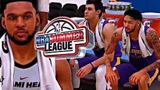 NBA 2K18 MyCAREER SUMMER LEAGUE #1 - CAM DOMINATES IN HIS SUMMER LEAGUE DEBUT AGAINST THE LAKERS!