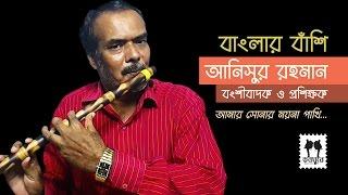 Amar Shonar Moyna Pakhi || Banglar Banshi || Anisur Rahman || Flute