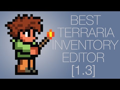 Best Terraria 1.3.0.8 Inventory Editor!!