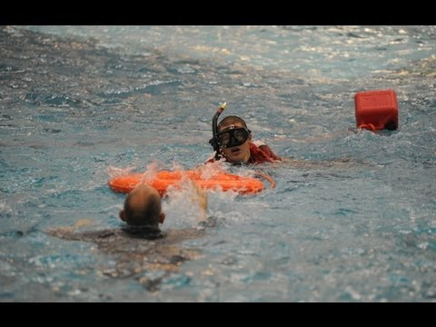 Do you have what it takes to be a rescue swimmer?