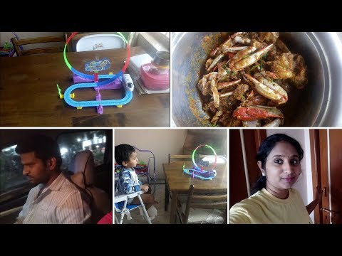 VLOG || Preparing Spicy Crab Curry for Lunch || peethala Kura || Going out to Hospital