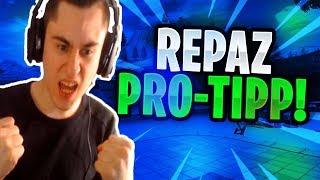 REPAZ erklärt Pro-Tipp !   Jerome nimmt Harmii die Ehre!   Fortnite Highlights Deutsch