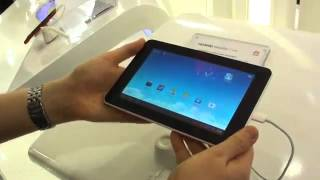 Google Android Huawei Mediapad 7 Lite Hands On