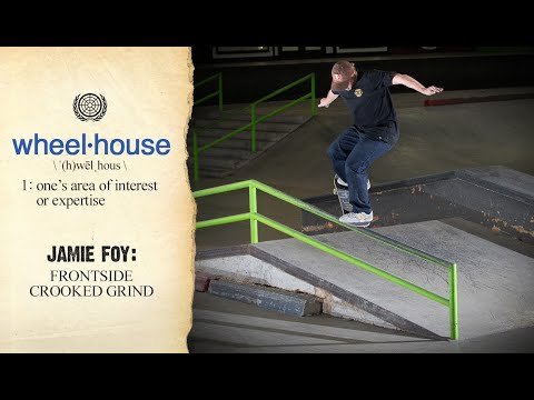 Jamie Foy And His Famous Frontside Crooked Grind | Wheelhouse