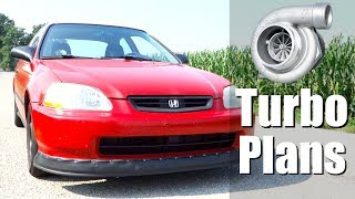Turbo HONDA Civic Build Update Plans - Honda Civic EK9 Build Car Vlog