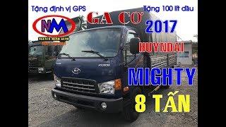 Xe tải hyundai 8 tấn mighty thùng dài 5m cavec hyundai chính hãng