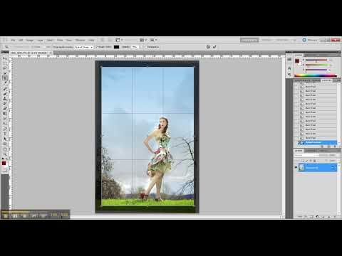 Photoshop photo editing: How to fix backlit (back lit) images: bright and well contrasted