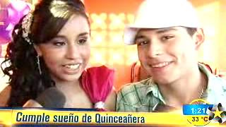 Brandon Meza Cumple Sue�o A Xv�era