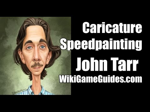 Caricature Speedpainting with Marcus: John tarr - WikiGameGuides
