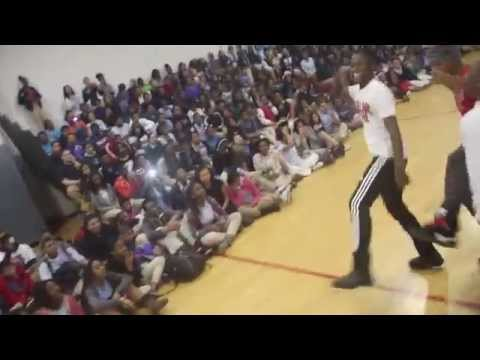 dollarboyz Pssa Pep Rally Skool Tours 2014 (philly - Jersey - Chester)) video