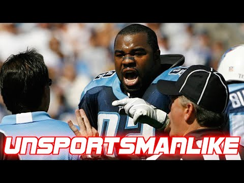 NFL Most Unsportsmanlike Moments
