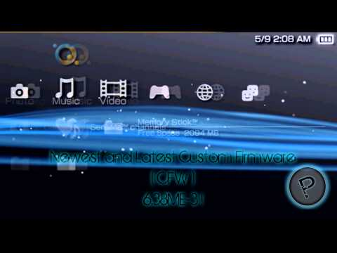 PSP Custom Firmware 6.38 ME-3 (For PSP 1000 and 2000 Models!) (w/Download Links)