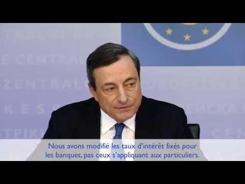 Que signifie, pour moi, la décision de la BCE ? - 5 Juin 2014