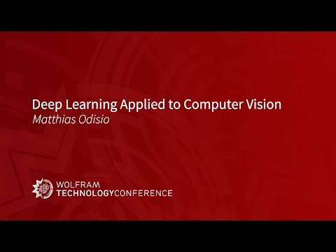 Deep Learning Applied to Computer Vision