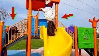 Ansızın Yolda Bir Parka Girip Eğlenmek !! VLOG