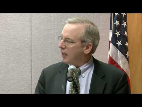 President Dudley: Private For-Profit Institutions in Higher Education (November 2013, 1 of 4)