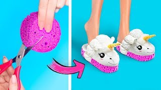 11 DIY Miniature Slime Stress Relievers / Clever Barbie Hacks And Crafts