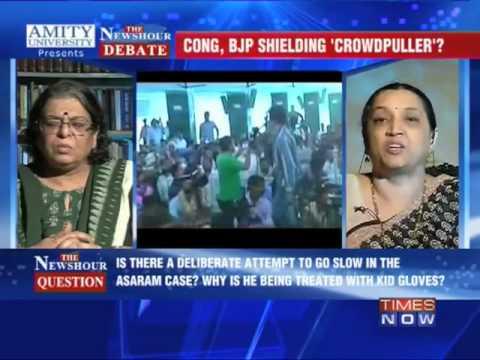 The Newshour Debate: Congress, BJP shielding 'crowdpuller'? - FULL DEBATE