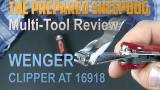 Wenger Evolution Clipper AT 16918 - Multi-Tool Review