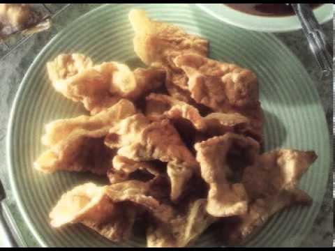 Wontons de Cangrejo al estilo Oriental - (Pastas y Arroz) - recetas de cocina facil