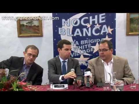 I Noche en Blanco de la Zona Comercial Abierta de Santa Brígida - Presentación.