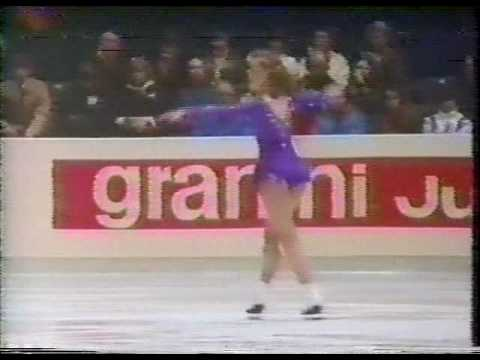 Claudia Leistner (FRG) - 1983 World Figure Skating Championships, Ladies' Long Program