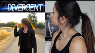 DIVERGENT | Tris Makeup, Outfit +Hair! Get the Look