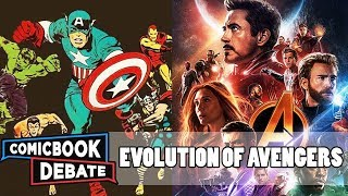 Evolution of the Avengers in Cartoons, Movies & TV in 19 Minutes (2018)
