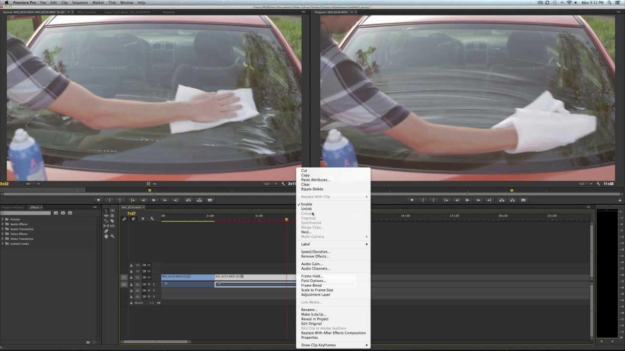 Set poster frame in adobe premiere pro cc