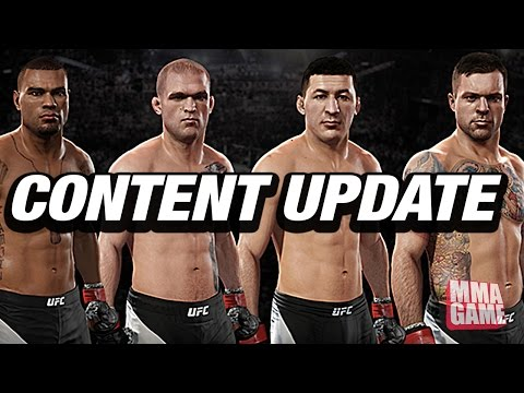NEW UFC 2 FIGHTERS AND UPDATE #6 | EA SPORTS UFC 2 NEW PATCH GAMEPLAY