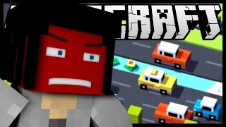 """CROSSY ROAD IN MINECRAFT"""