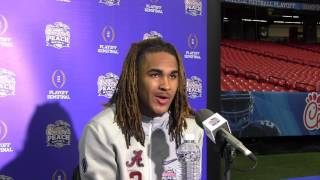 Peach Bowl Media Day Jalen Hurts