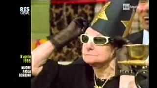 PAOLA BORBONI ( in questo video,anche la sua
