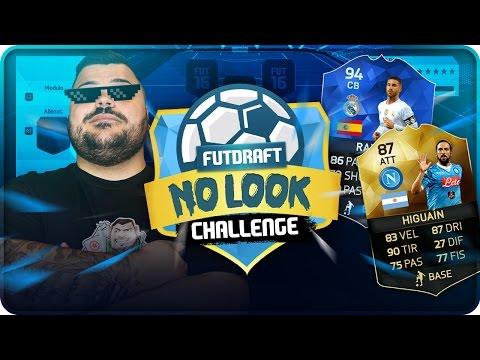 No Look Fut Draft Challenge !!! [ FIFA 16 ]