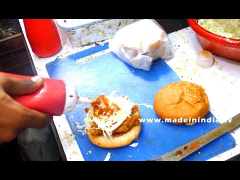 Chicken Burger | Bombay Burgers | Wadala Station | MUMBAI STREET FOOD | INDIAN STREET FOODS