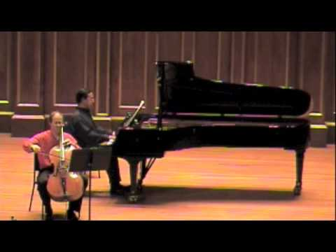 Rachmaninov Andante with Emmanuel Feldman and George Lopez played in memory of Mstislav Rostropovich