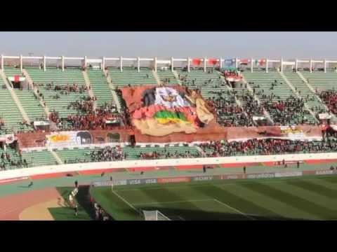Ultras Ahlawy In Morocco ( Fifa Club World Cup Moracco 2013)