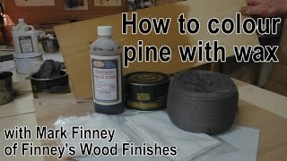 How to wax pine