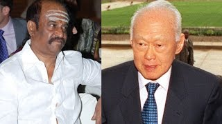 Rajinikanth's Condolence Message on Lee Kuan Yew's Death