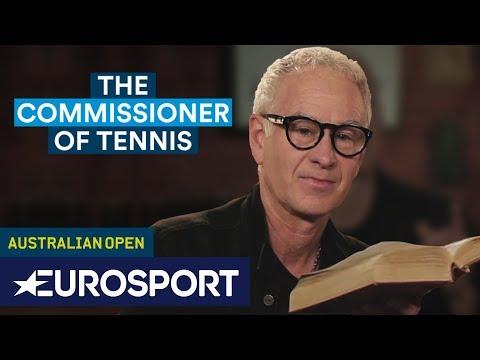 GOAT or Croatian Shepherd? | The Commissioner of Tennis | Eurosport