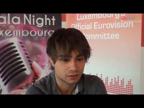 Interview Alexander Rybak in Luxembourg (part 1 of 2)
