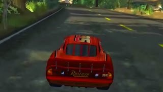 Cars 1 the Videogame 360 - Episode 16 - Lightning Mcqueen VS Delinquent Road Hazards